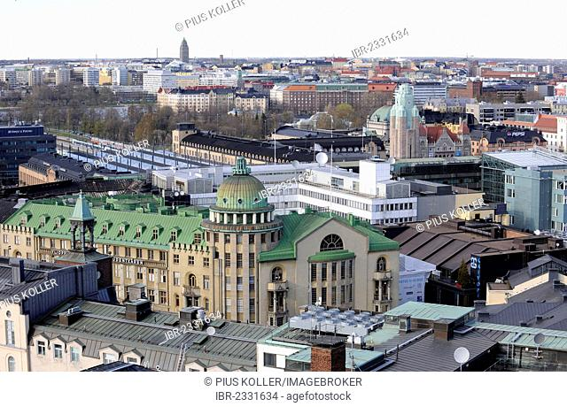 View over Helsinki, Finland, Europe