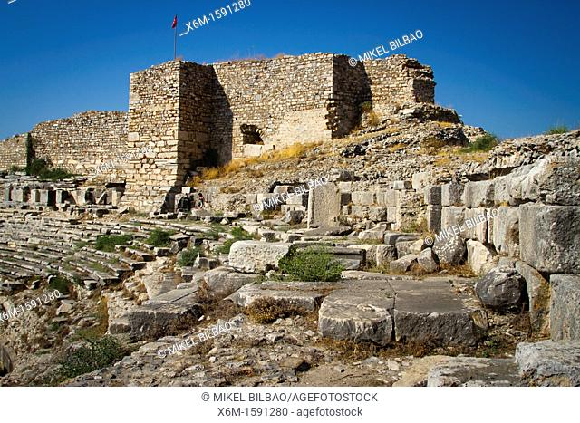 Miletus ancient greek city ruins  Aydin province  Western coast of Anatolia  Turkey