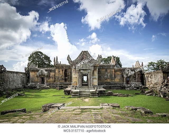 Preah Vihear ancient Khmer temple ruins famous landmark in Cambodia