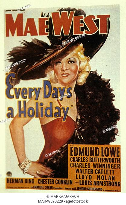 every day's a holiday, 1937