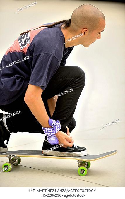 Championship Skater Vans Shop Riot in Leganes Madrid Spain