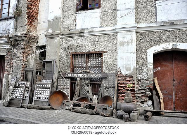 Philippines, Ilocos region, Vigan city,