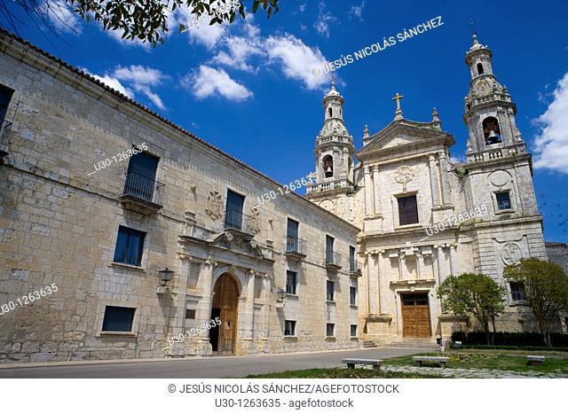 Cistercian monastery of Santa María de la Santa Espina, built between XII Century and XVI Century, in Castromonte, Valladolid province