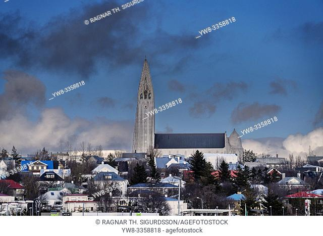 Winter in Reykjavik, Iceland