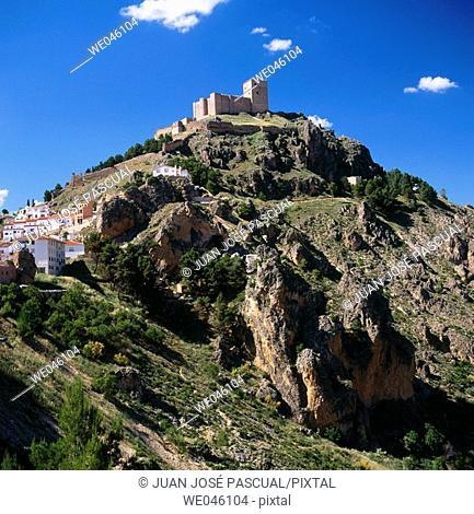 Castle, Segura de la Sierra. Jaén province, Andalusia, Spain