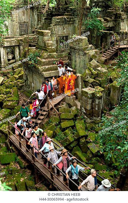 Asia, Southeast Asia, asian, Cambodia, cambodian, Siem Reap, UNESCO, World Heritage, Angkor, Beng Mealea, Tour group