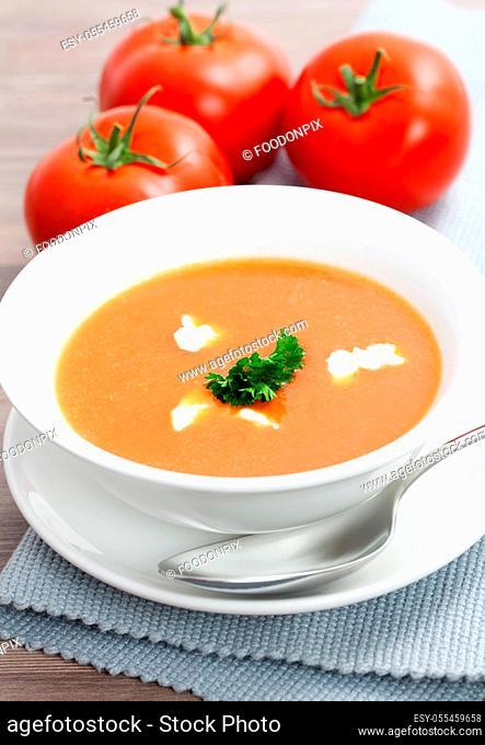 soup, vegetable soup, tomato soup