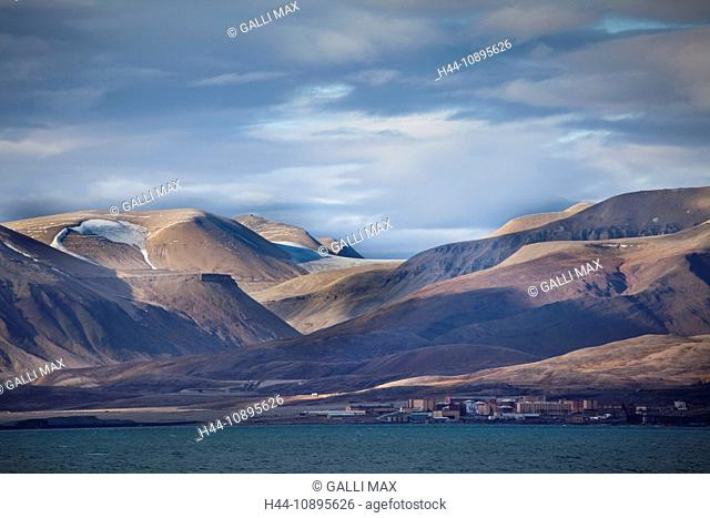 Arctic, arctic ocean, Barents Sea, Billefjorden, Antarctic Ocean, island, isle, island group, Isfjorden, sea, north, Norway, Eu