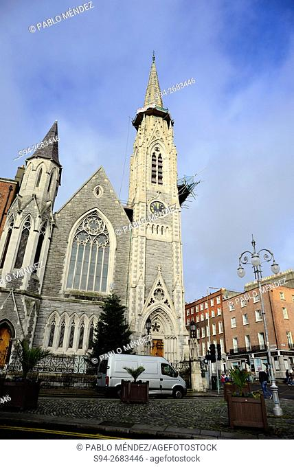 Abbey Presbyterian church in Parnell Square, Dublin, Ireland