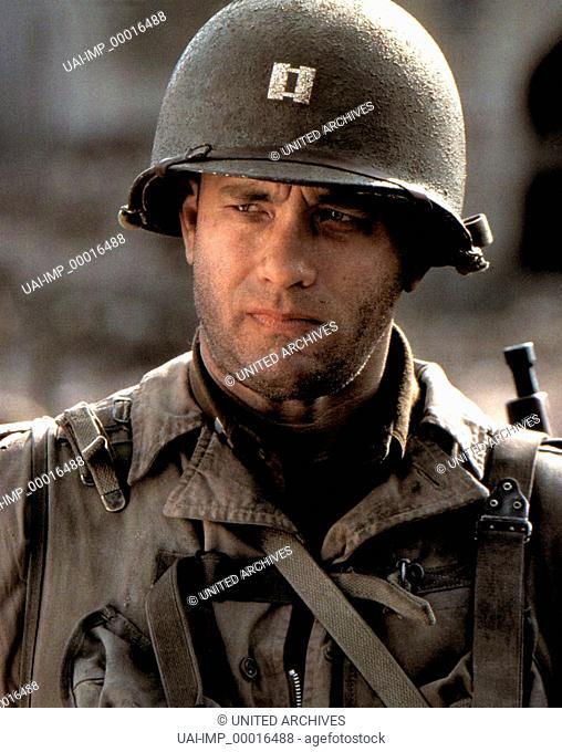 Der Soldat James Ryan, (SAVING PRIVATE RYAN) USA 1998, Regie: Steven Spielberg, TOM HANKS