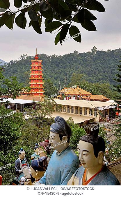 Temple of Ten Thousand Buddhas  Sha Tin  New territories,Hong Kong, China