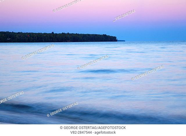 Meyers Beach dawn, Apostle Islands National Lakeshore, Wisconsin