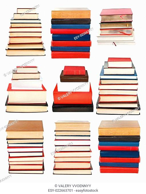 set from piles of different sizes book