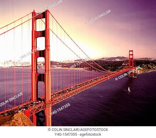 San Francisco, Golden Gate Bridge, The Bay