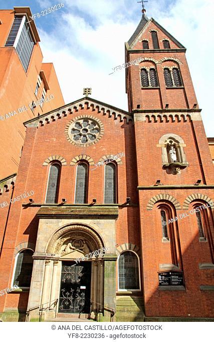St Mary church Manchester England UK