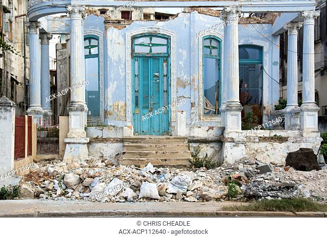 Decaying mansion, Vedado, Havana, Cuba