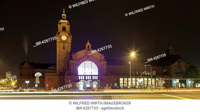 Central railway station, Wiesbaden, Hesse, Germany