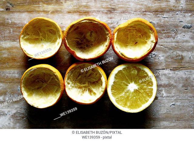 each Orange shell