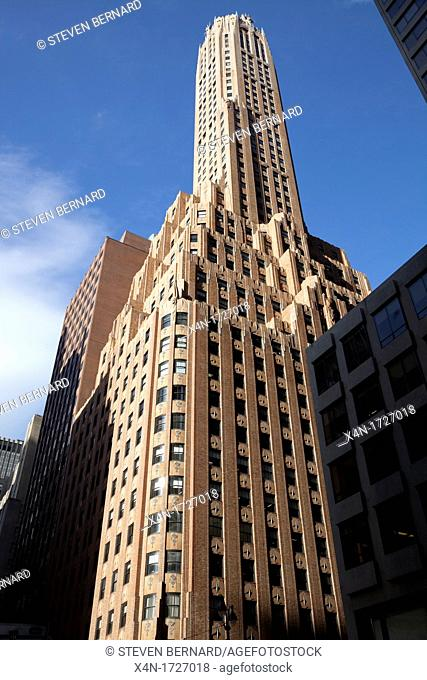 General Electric Building at 570 Lexington Avenue in Manhattan, New York City, United States of America
