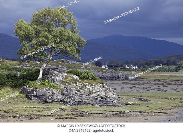 Flat Land of Kentra Bay, West Scotland