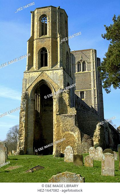 The Abbey Church of St Mary and St Thomas of Canterbury, Wymondham, Norfolk