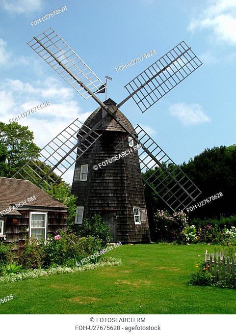 East Hampton, NY, New York, Long Island, Guild Hall of East Hampton, 1804 Pantigo Windmill