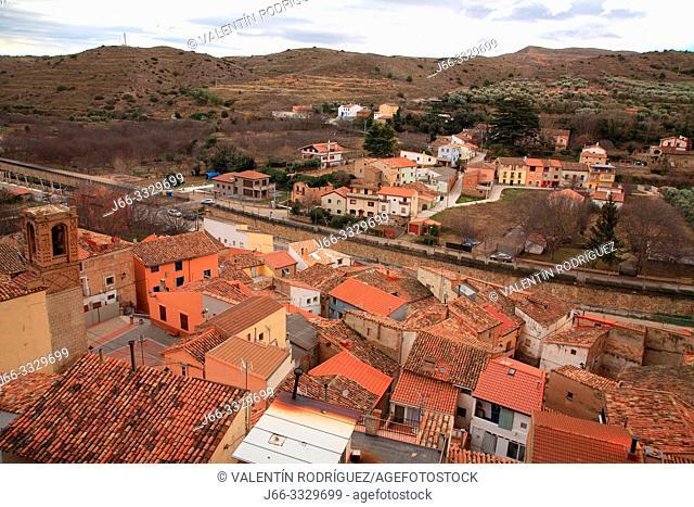 Los Fayos, village of the Moncayo region. Zaragoza