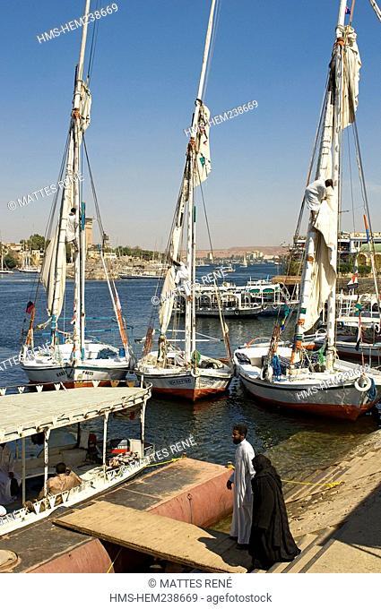 Egypt, Upper Egypt, Nubia, Nile Valley, Aswan