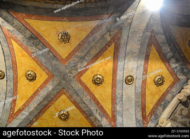 interior of Dumo in Modena, Italy