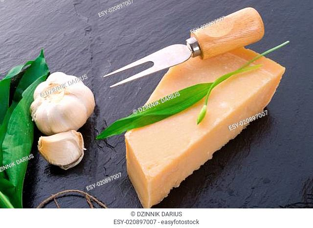 Parmesan and wild garlic