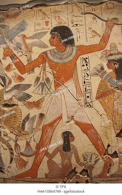 UK, United Kingdom, Great Britain, Britain, England, London, British Museum, Egypt, Luxor, Egyptian, Egyptology, Nebamun, Tomb, Tombs, Art, Artwork, Exhibit