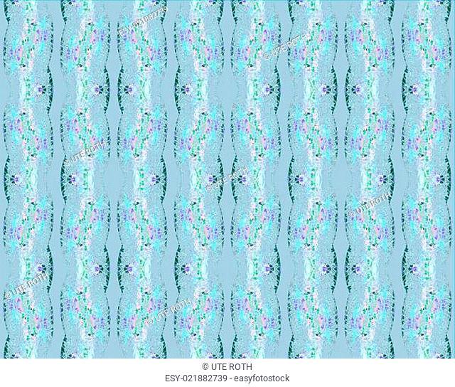 Hintergrund abstraktes Endlos-Muster zartes florales Streifenmuster in Pastelltönen