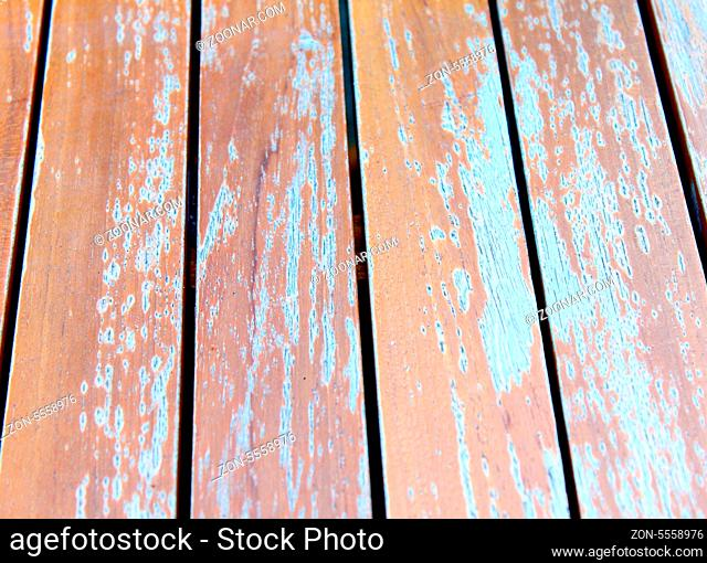 Brown wood plank table texture whole background