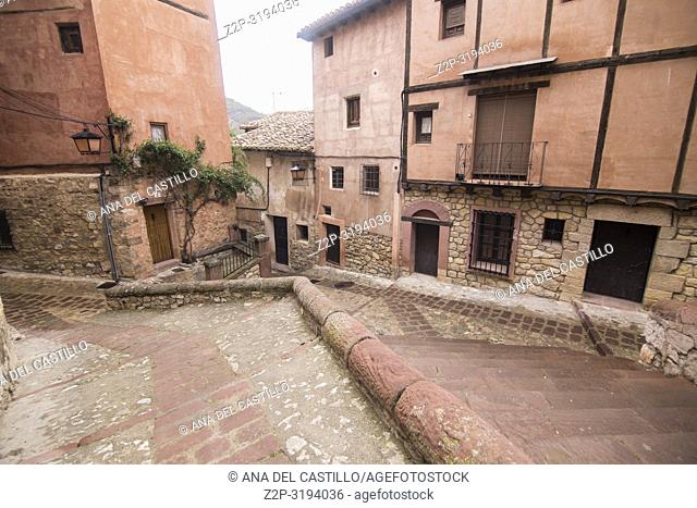 Albarracin is one of the most beautiful villages in Teruel Aragon Spain
