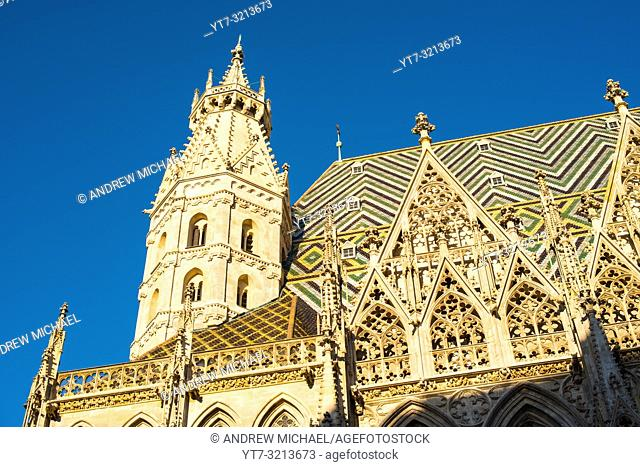St. Stephens Cathedral (Stephansdom) in Vienna, Austria