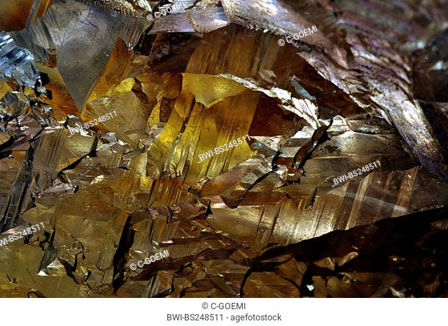 rock crystal, surface structures