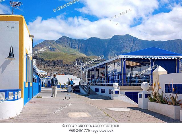 -Restaurants in Agaete Village- Canary Island Spain