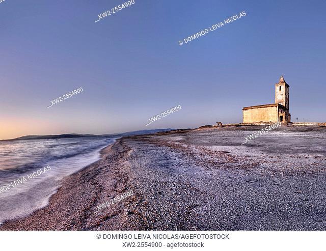 Church of Las Salinas. Cabo de Gata Natural Park. Almeria. Andalusia, Spain