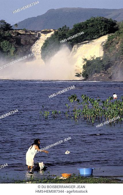 Venezuela, Guayana region, Fall of Canaima