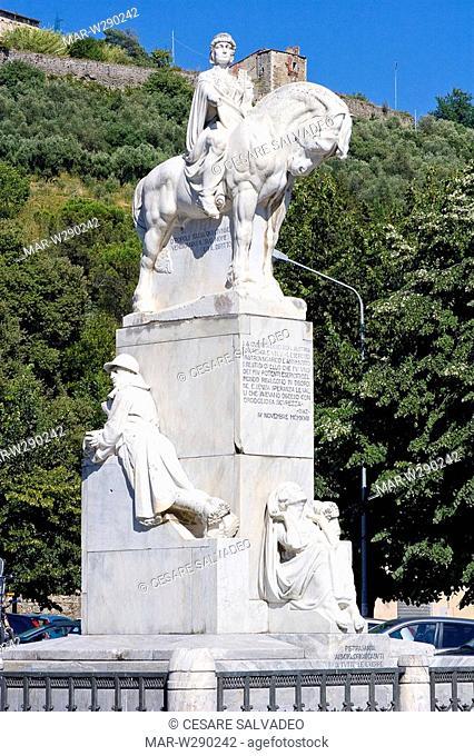 europe, italy, toscana, pietrasanta, war memorial
