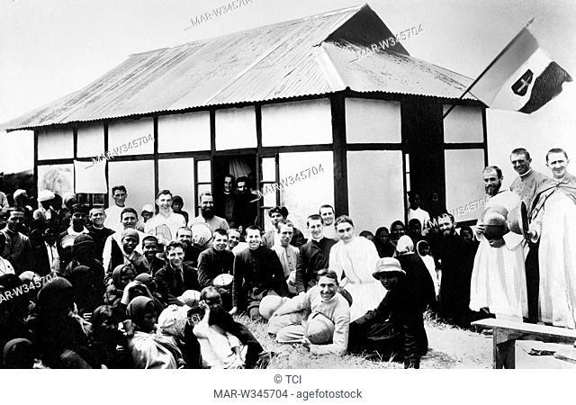 asia, india, assan, inauguration of Salesian missionaries school, 1930-40