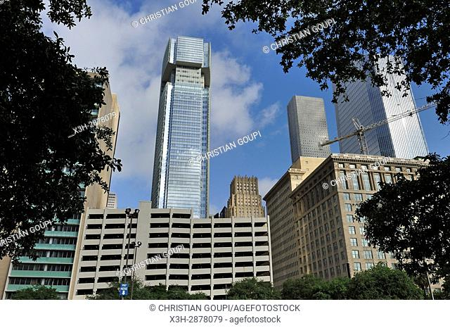 Downtown, Houston, Texas, United States of America, North America