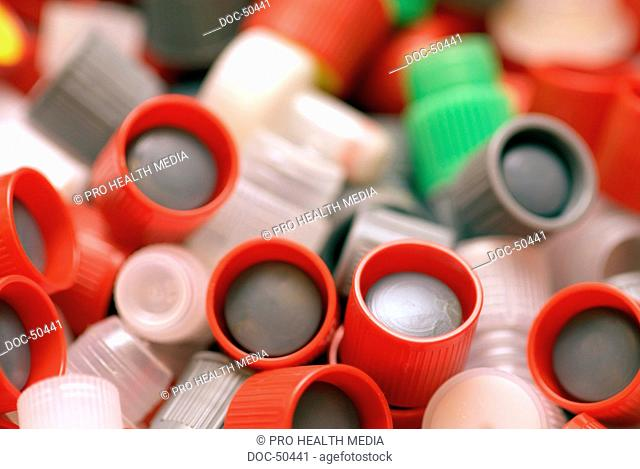 Lab material , test tubes , seal