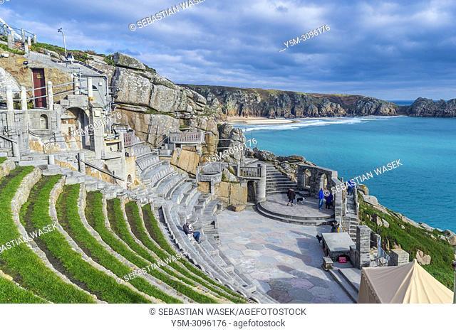 Minack Theatre, Porthcurno, Cornwall, England, United Kingdom, Europe