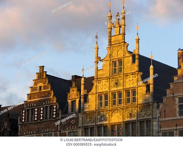 maison des maçons, gand, belgium