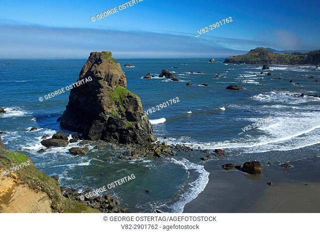 View from Otter Point, Otter Point State Park, Oregon