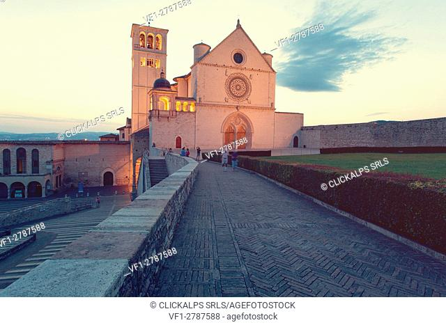 Europe,Italy,Umbria, Perugia district, Assisi