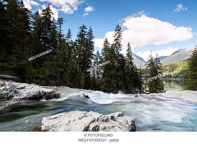 Canada, Vancouver Island, Myra Falls