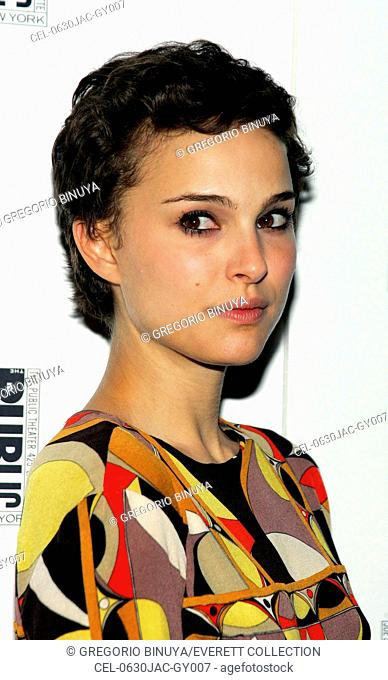 Natalie Portman at the after-party for The Public Theater Sings: A 50th Anniversary Celebration, The Time Warner Center, New York, NY, January 30, 2006
