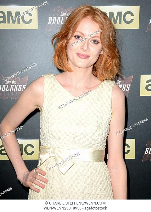 Screening of AMC's 'Into the Badlands' at The London West Hollywood - Arrivals Featuring: Emily Beecham Where: Los Angeles, California